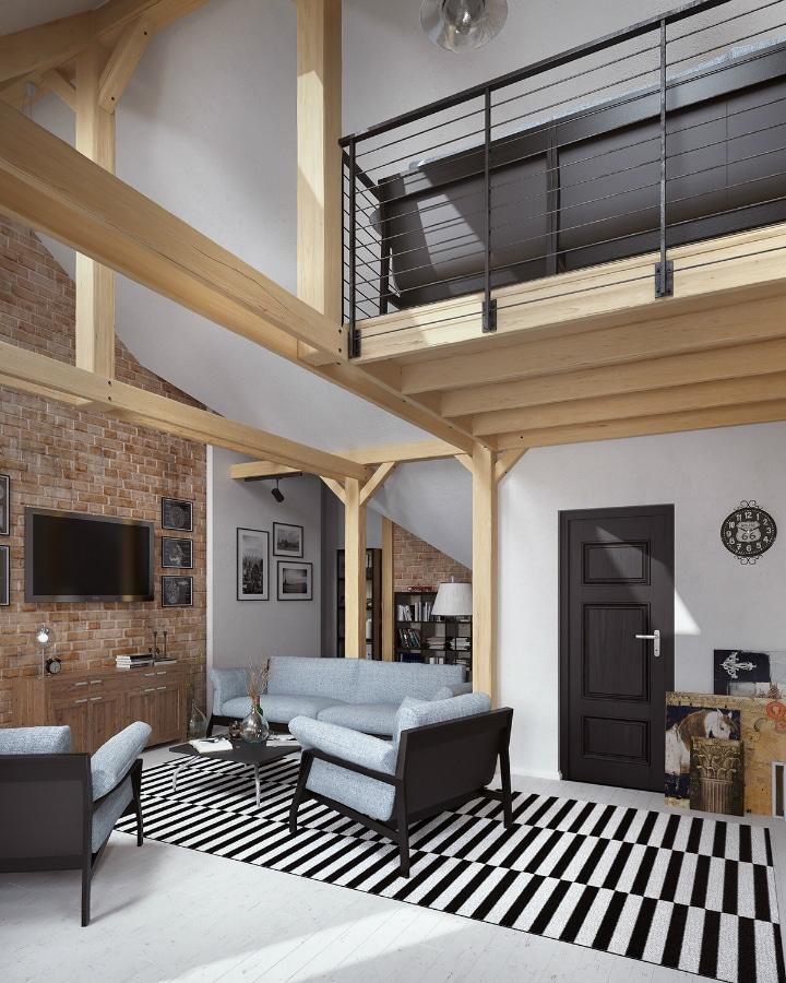 Poutres apparentes meilleures images d 39 inspiration pour votre design de maison for Poutres apparentes