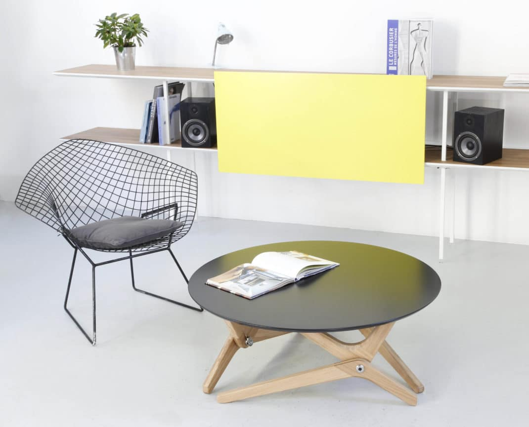 Boulon blanc d voile sa table basse relevable design - Fabriquer sa table basse relevable ...