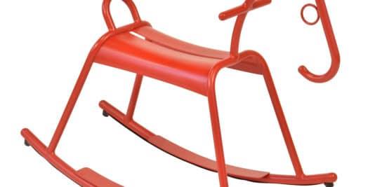 Adada cheval à bascule design Fermob