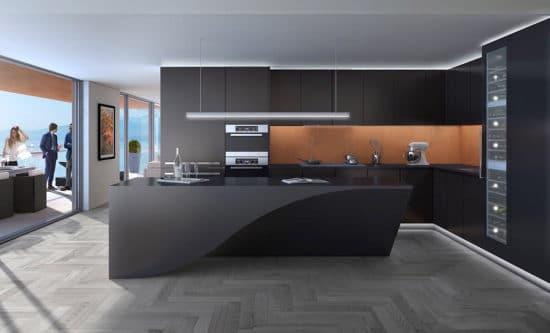 cuisines noires deco design 3 550x333 - cuisines-noires-deco-design-3