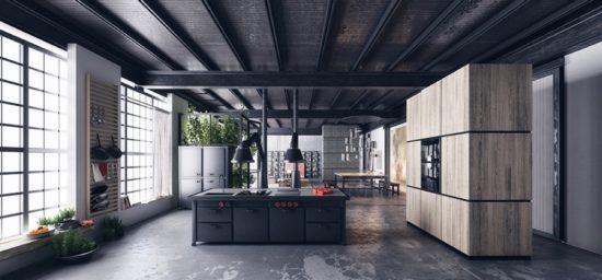 cuisines noires deco design 33 550x256 - cuisines-noires-deco-design-33