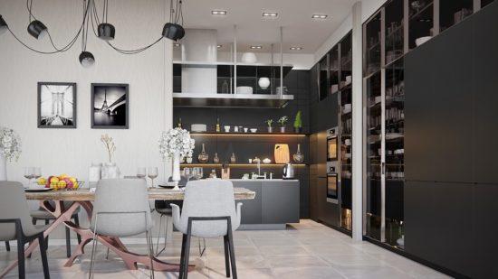 cuisines noires deco design 35 550x309 - cuisines-noires-deco-design-35