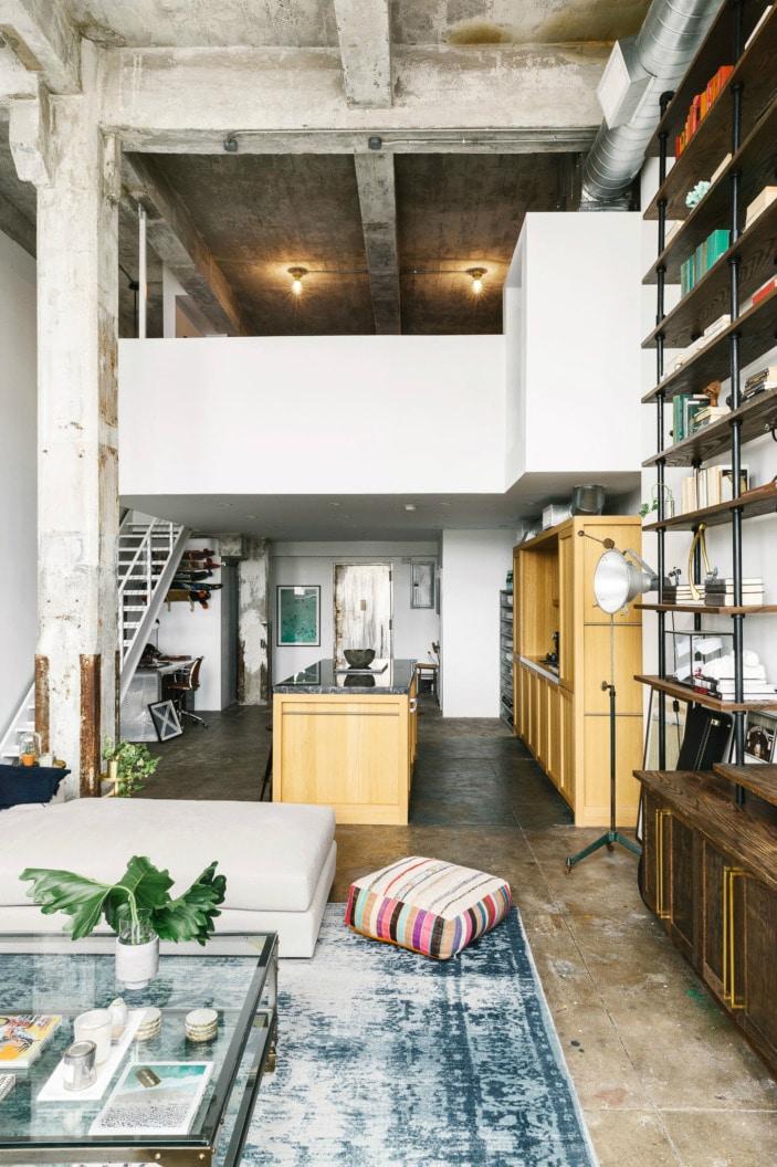 transformer un loft en appartement moderne blog deco. Black Bedroom Furniture Sets. Home Design Ideas
