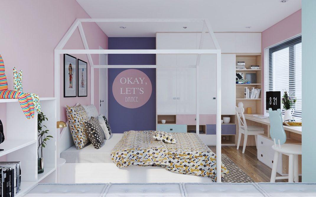 Les chambres d'enfant avec un lit cabane