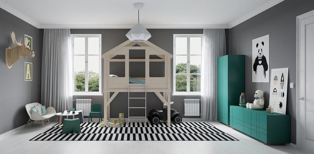 20 chambres d enfant la d coration moderne et color e - Chambre d enfant moderne ...