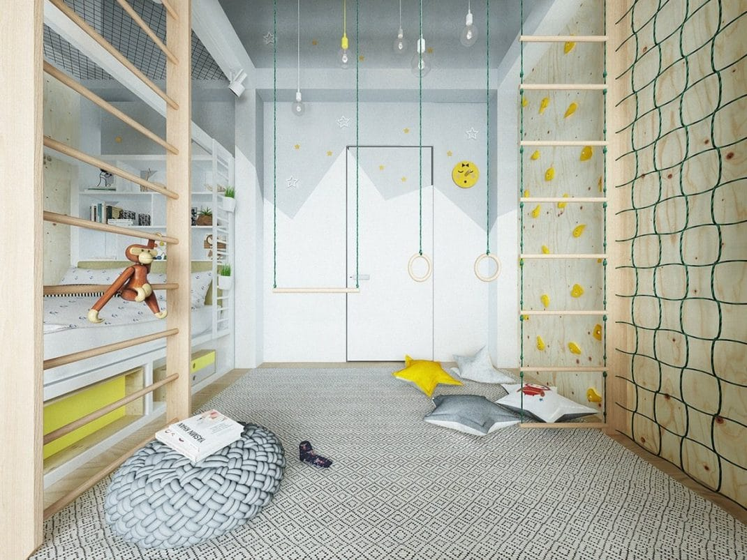 20 chambres d enfant la d coration moderne et color e for Chambre enfant coloree