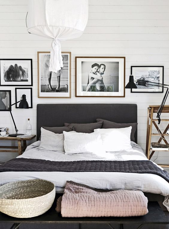 40 chambres grises pleines d'idées déco ! | le blog deco tendency