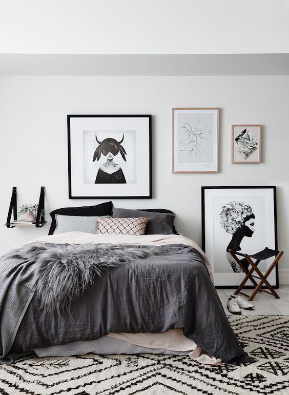 chambres grises déco