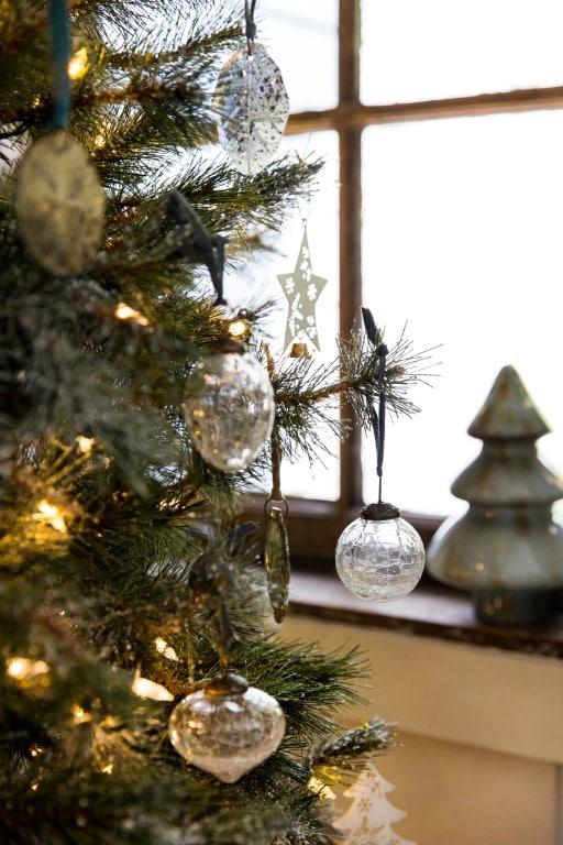 Le salon la pièce idéale pour unedéco de Noël Alpine