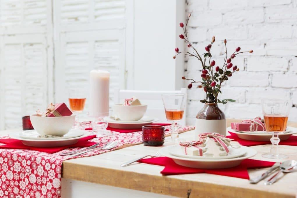 Une déco de Noël Nordique avec du blanc