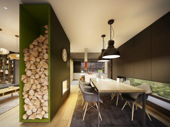 maison contemporaine aux couleurs automnales 7 550x413 - maison-contemporaine-aux-couleurs-automnales-7