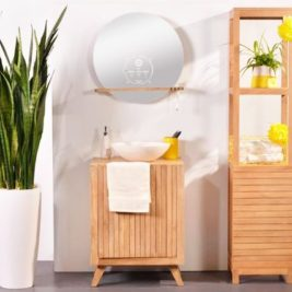 Ekko miroir connecté design Miliboo