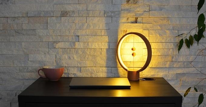 Heng Balance - Une lampe design avec interrupteur en lévitation 5