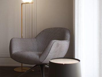 Honey White Lumière et sophistication moderne dans un appartement de deux chambres 11 356x267 - Honey White - Lumière et sophistication moderne dans un appartement de deux chambres