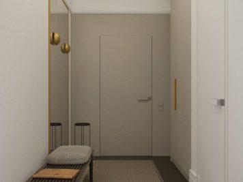 Honey White Lumière et sophistication moderne dans un appartement de deux chambres 7 356x267 - Honey White - Lumière et sophistication moderne dans un appartement de deux chambres