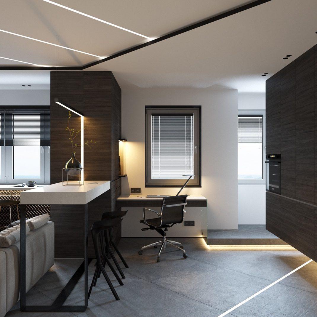 comment gagner de l espace dans un appartement. Black Bedroom Furniture Sets. Home Design Ideas