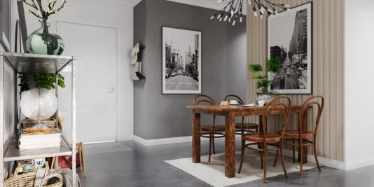 décoration grise et blanche relevée avec un maximum de verdure 4 534x267 - Une décoration grise et blanche relevée avec un maximum de verdure