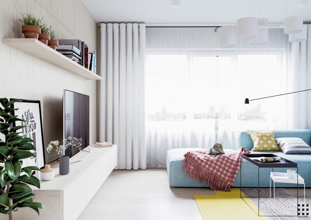 Décorer un appartement quand on a des enfants avec un style scandinave