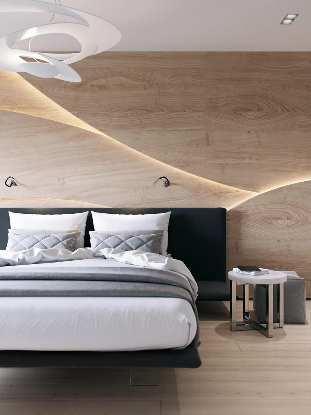 Des murs en bois décoratifs d'exception