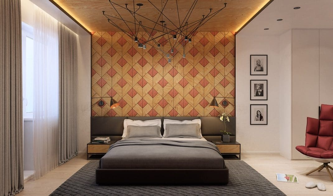Des murs en bois décoratifs mais aussi minimalistes