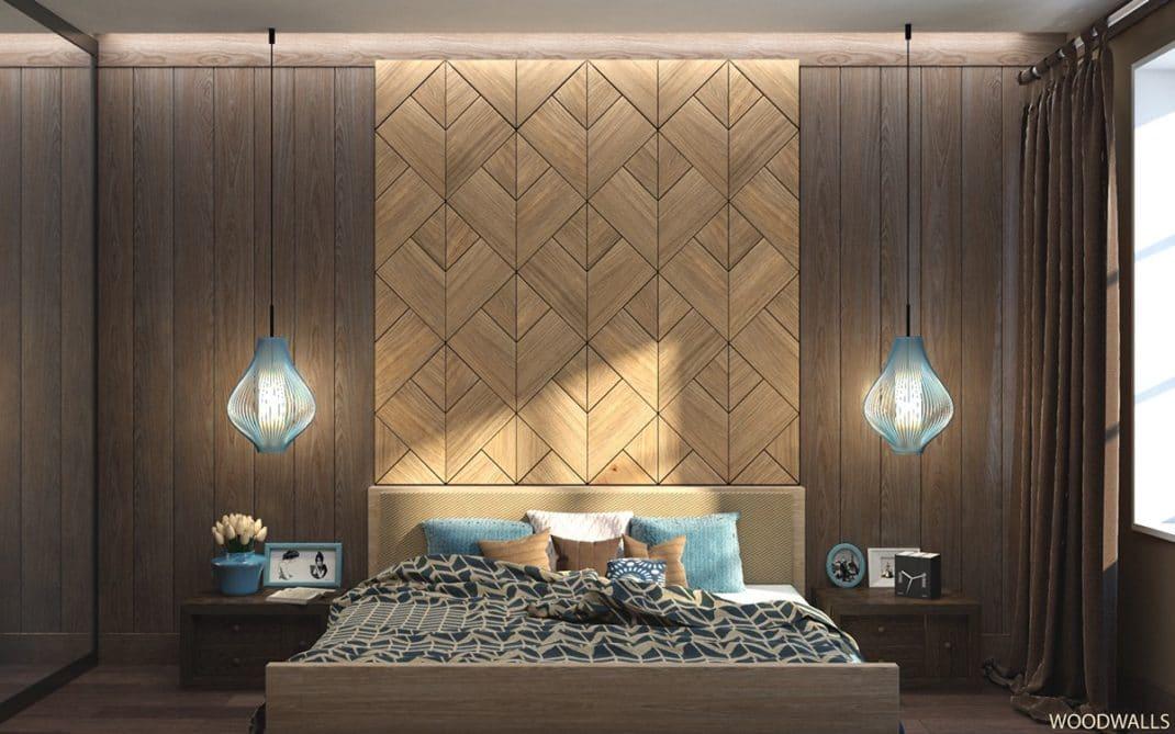 Murs en bois décoratifs