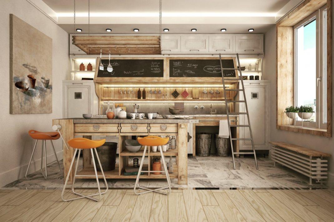 32 cuisines au style industriel dont vous allez tomber amoureux. Black Bedroom Furniture Sets. Home Design Ideas