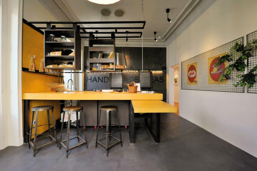 cuisines au style industriel