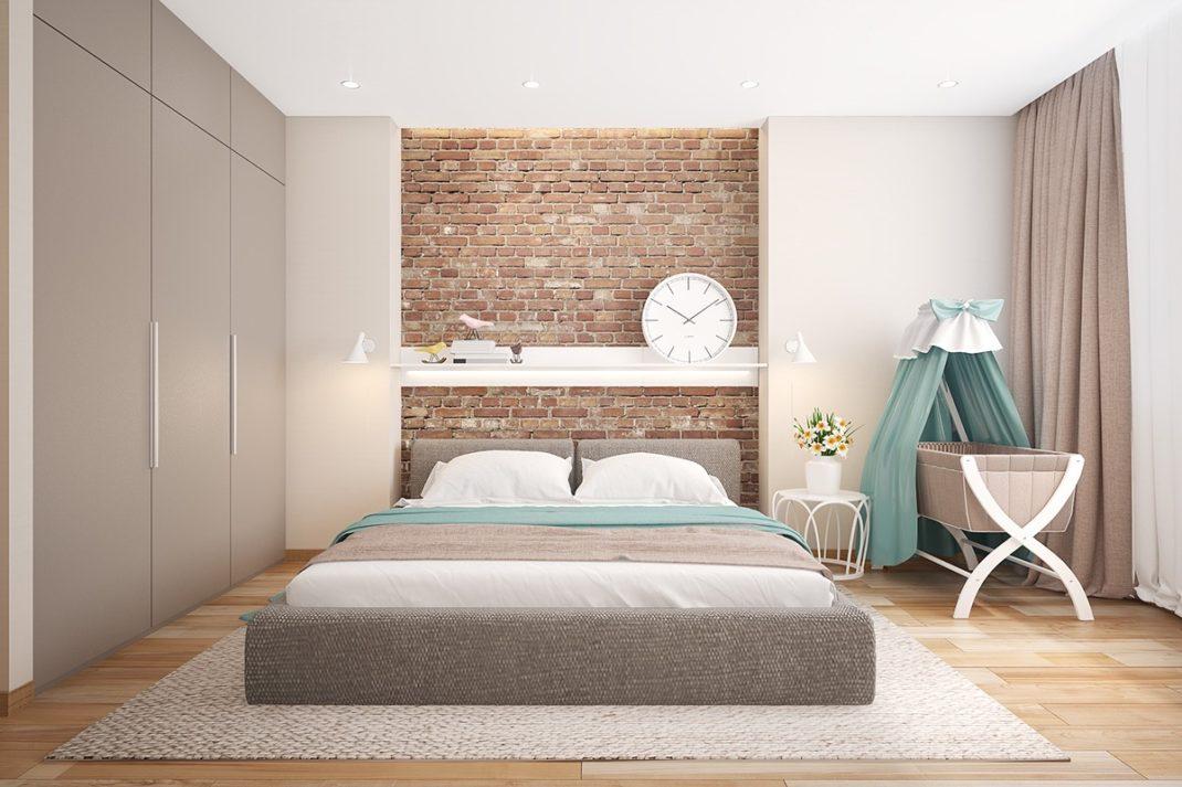d233corer les murs d�une chambre avec des briques blog deco