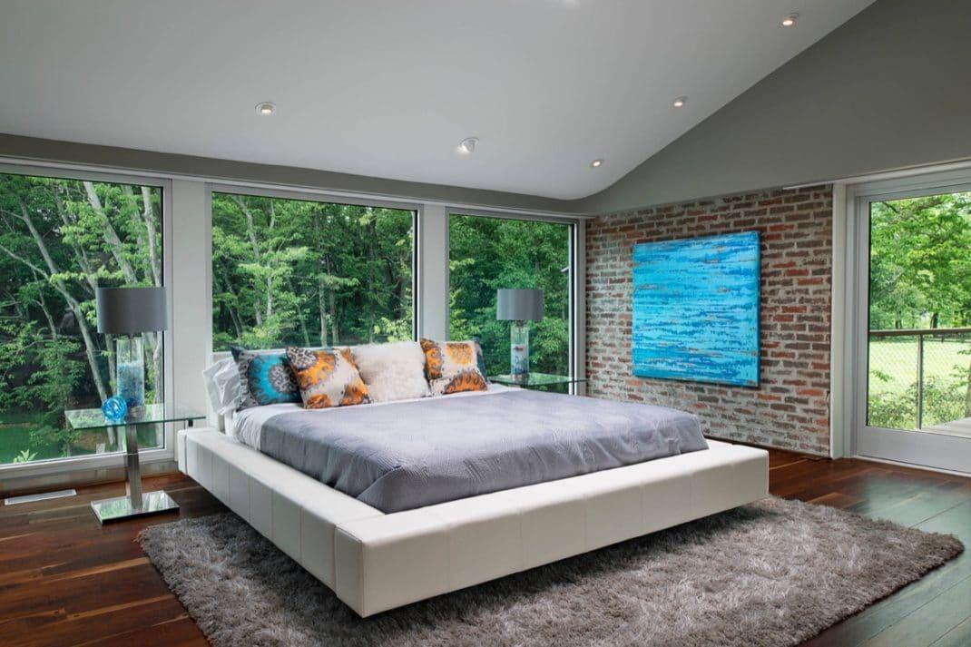 D corer les murs d une chambre avec des briques blog deco - Decorer une chambre ...
