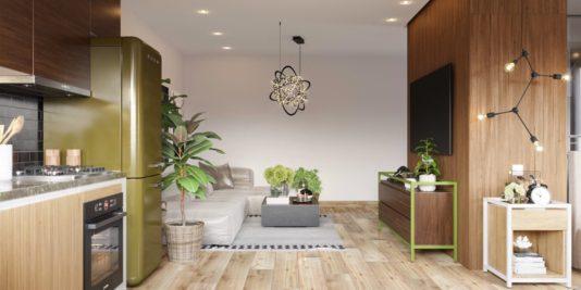 décorer un studio 8 534x267 - Décorer un studio : 5 exemples à reproduire chez vous
