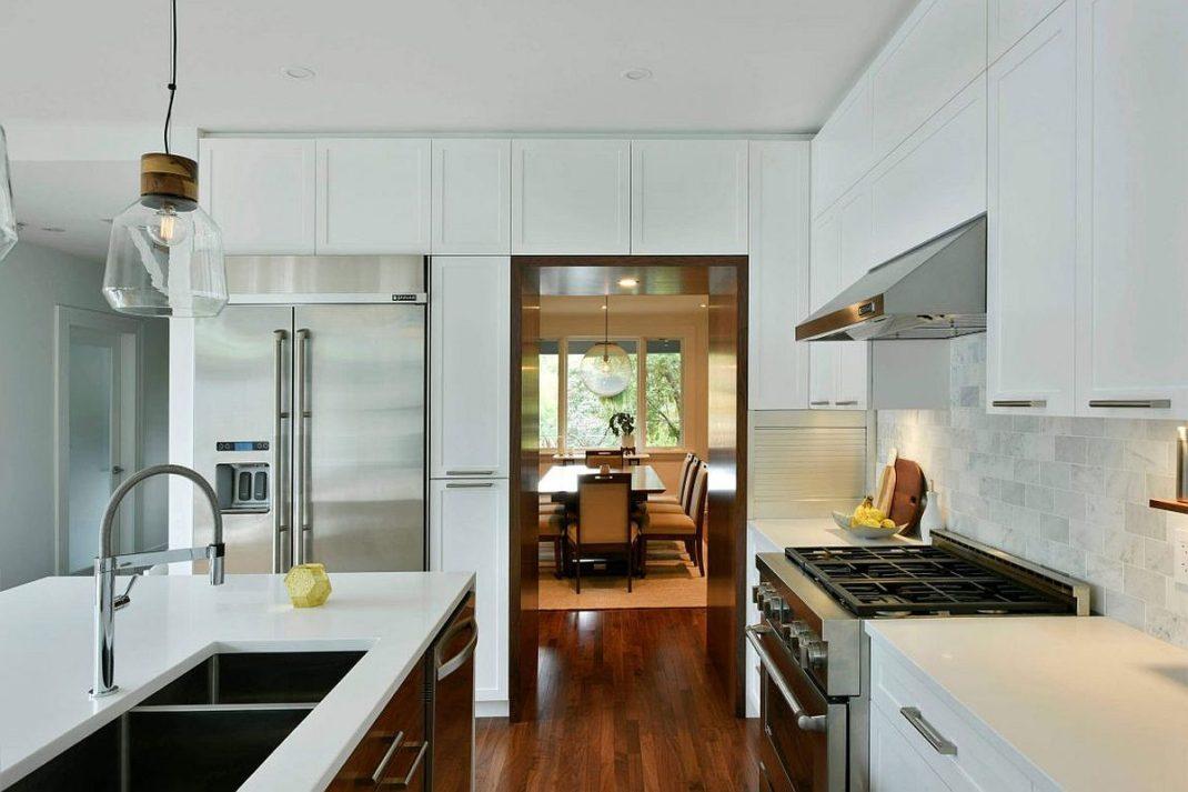 Mariage du marbre et du bois dans cette maison d ottawa - Du bois dans ma maison ...