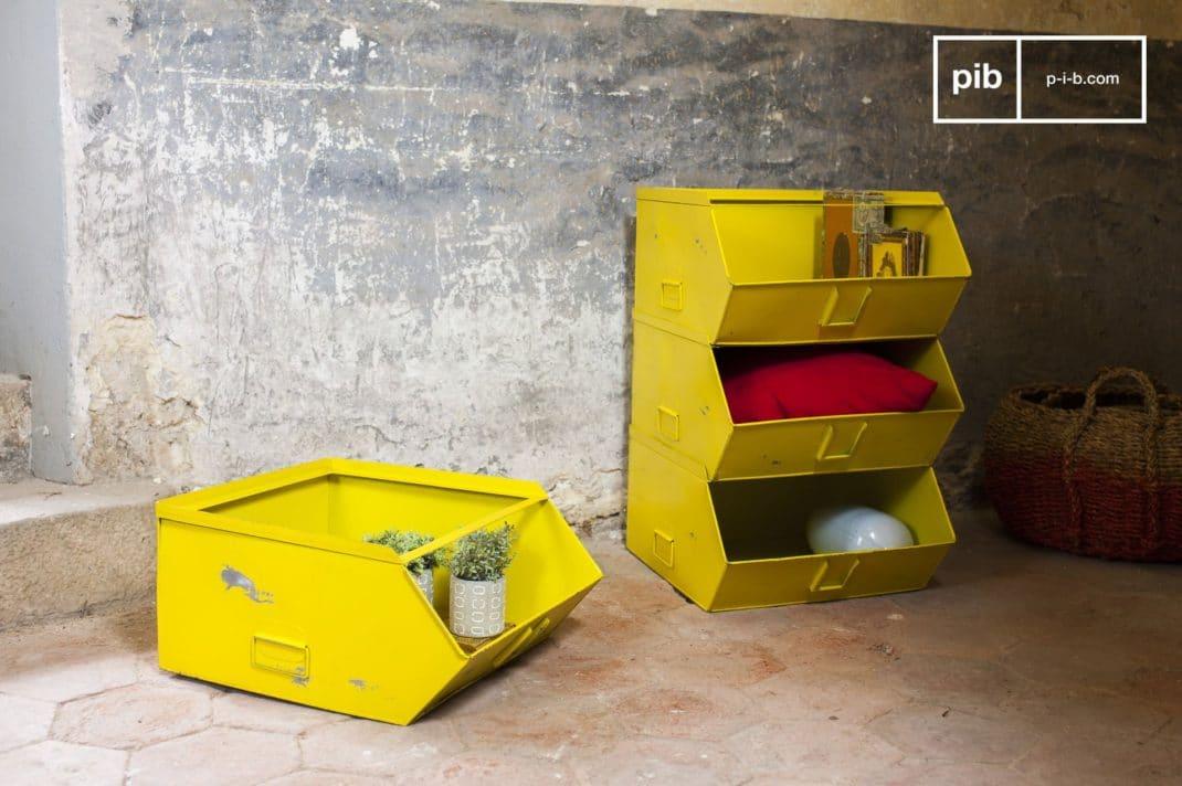 Mobilier industriel les meubles de rangement bac