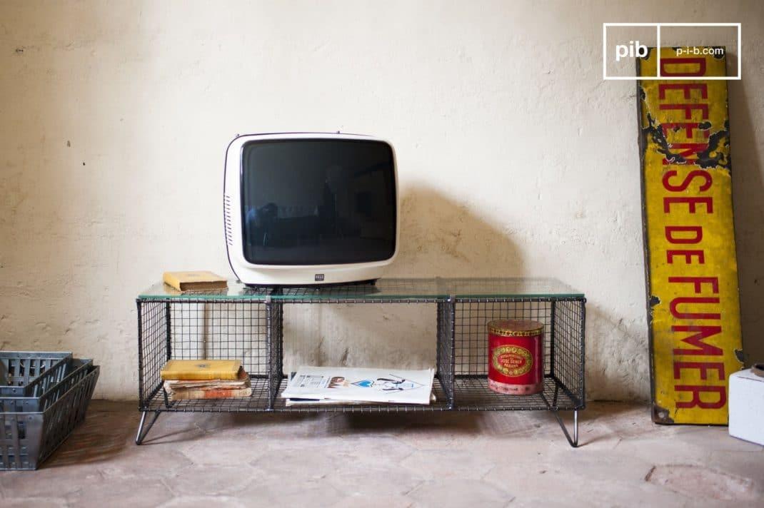 Mobilier industriel les meubles de rangement meuble tv