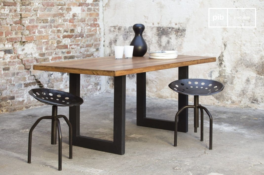 mobilier industriel petite s lection originale et design. Black Bedroom Furniture Sets. Home Design Ideas