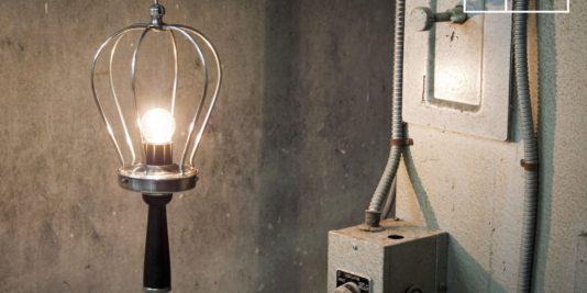 Mobilier industriel luminaires usine