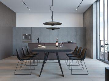 appartement moderne et minimaliste 3 356x267 - Un appartement moderne et minimaliste pour une jeune famille