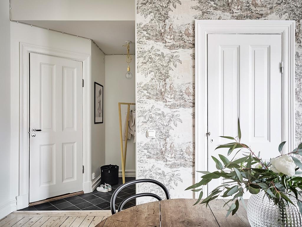 int rieur scandinave noir et blanc laissez parler le c t. Black Bedroom Furniture Sets. Home Design Ideas