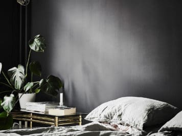 intérieur scandinave noir et blanc 9 356x267 - Un intérieur scandinave noir et blanc pour explorer votre côté obscur
