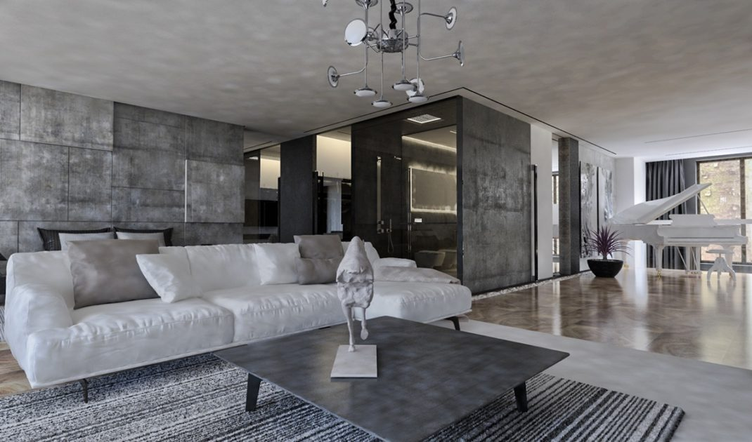 une maison de ville d co au style tr s affirm blog deco. Black Bedroom Furniture Sets. Home Design Ideas
