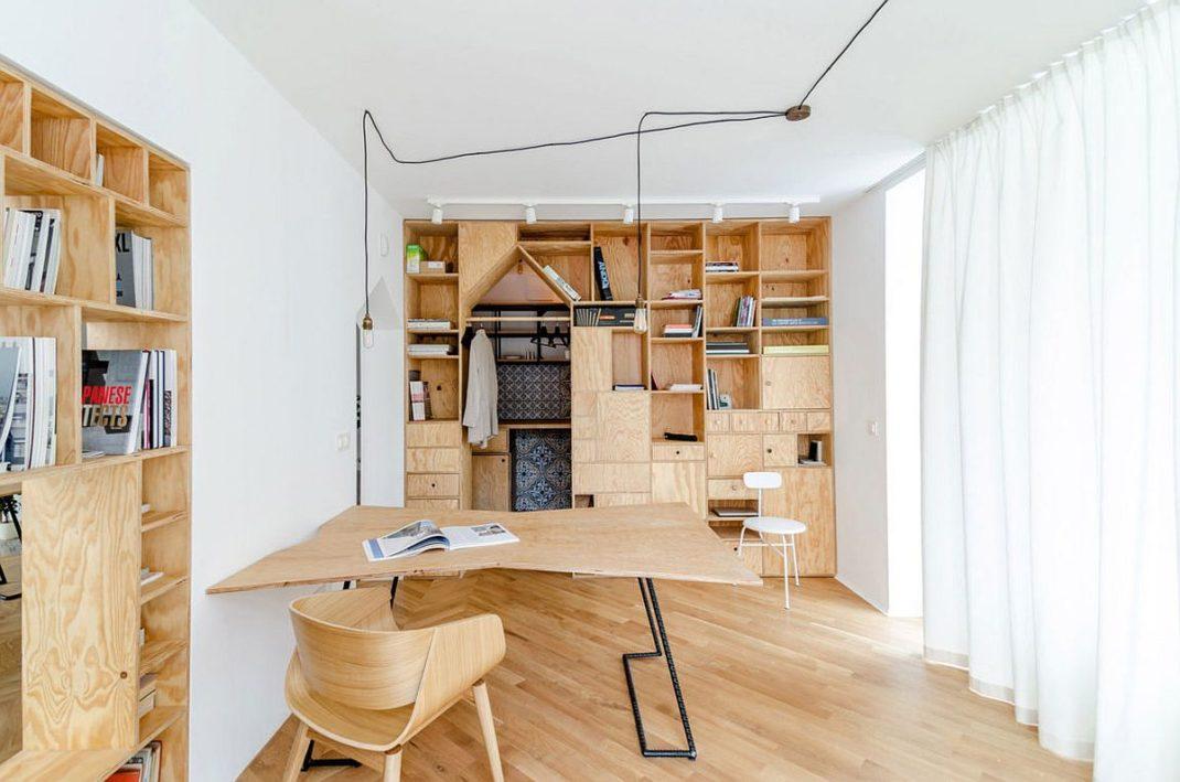 transformer un appartement en bureau unique et tonnant. Black Bedroom Furniture Sets. Home Design Ideas