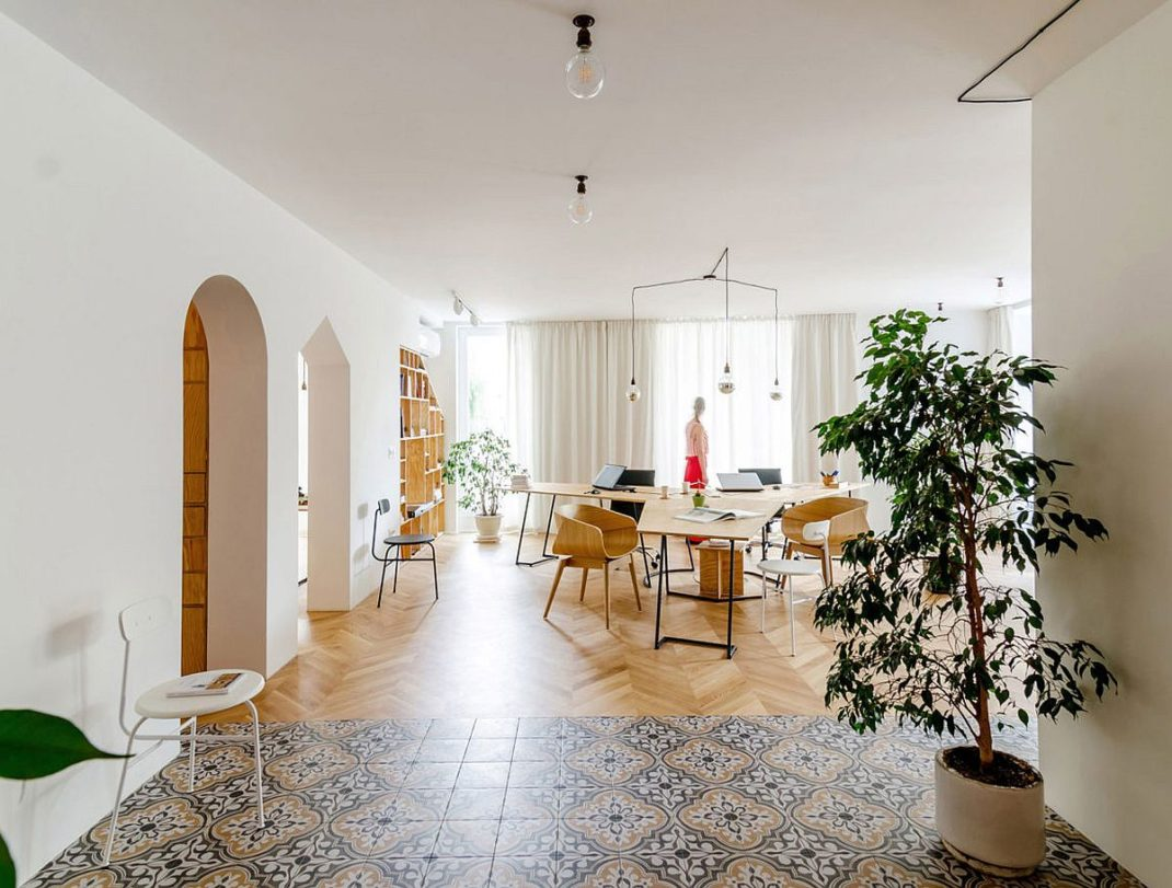 Transformer un appartement en bureau nécessite un peu de sur-mesure