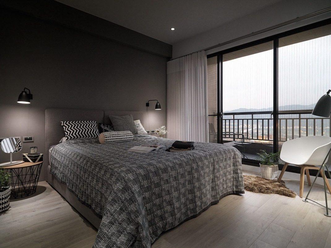 Appartement de style scandinave confort et chic nordique for Deco slaapkamer chalet