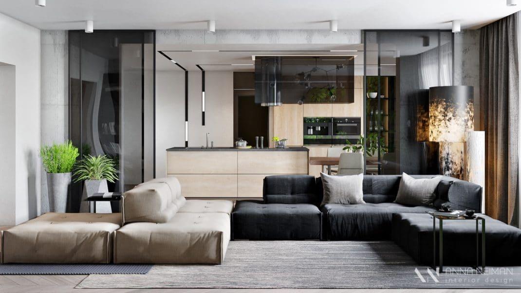 22 inspirations déco pour aménager un espace ouvert