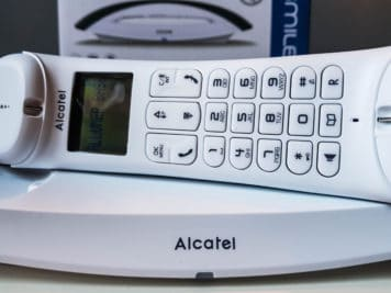 Alcatel Smile telephone design