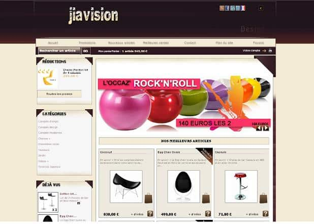 Boutiques déco généralistes - Jiavision