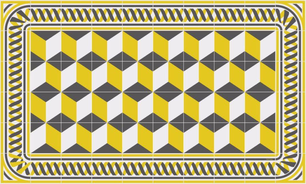 Tapis Vinyle – Les motifs carreaux de ciment