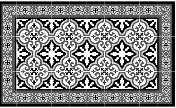 Tapis Vinyle – Les motifs orientaux