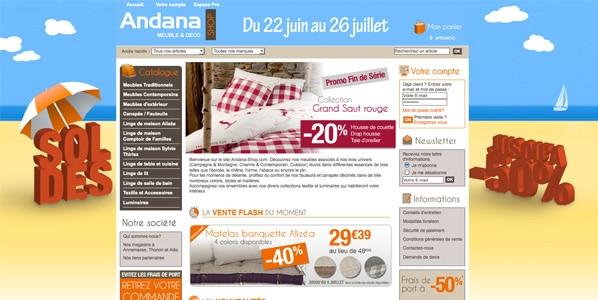 Boutiques déco généralistes - Adana Shop