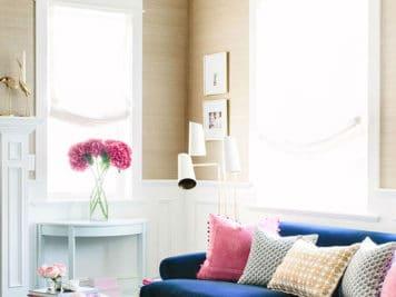 décoration glamour