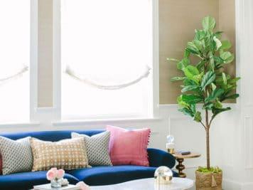 décoration glamour 6 356x267 - Magnifique décoration glamour pour cette maison californienne
